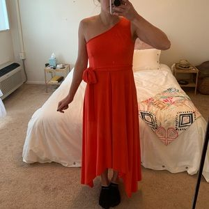 Red Vince Camino Dress